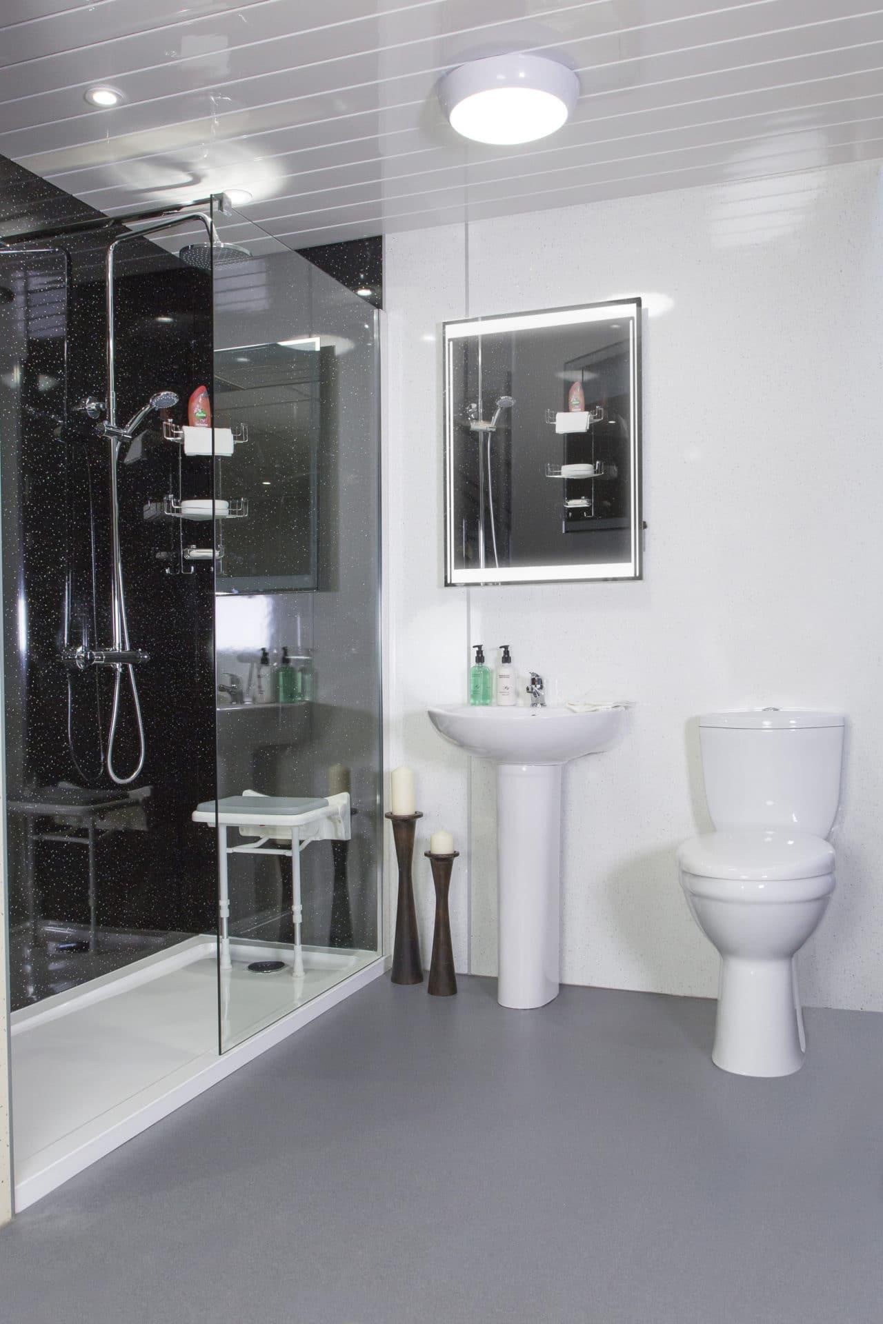 Toilet & Wash Basin